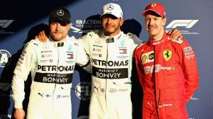 Hamilton Bottas Vettel podium Formule 1